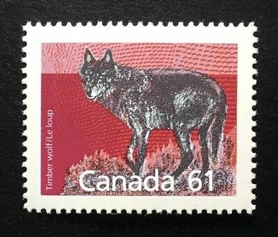 Canada #1175 SP 14.4x13.8 MNH, Timber Wolf Definitive Stamp 1990