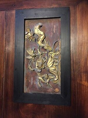 Framed 19th Century(or Earlier)Chinese Bed Panel