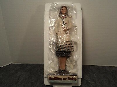 "Jim Shore Heartwood Creek ""God Bless Our Healers"" Female Doctor Figurine"