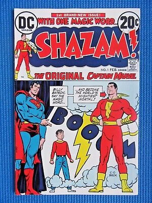 Shazam # 1 - (Nm-) - The Original Captain Marvel - Movie (2020) - High Grade