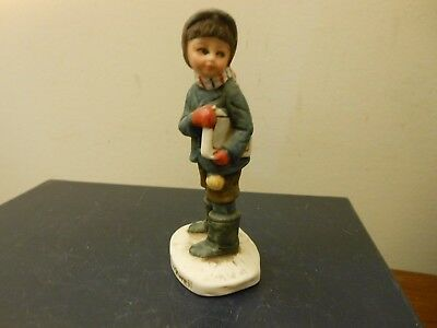 Norman Rockwell  SATURDAY EVENING POST BACK TO SCHOOL FIGURINE GORGEOUS