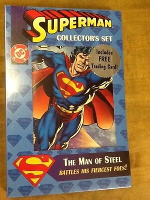 Sealed Superman Boxed Collector's Pack;  All number 1 first issues! 1990s DC #1!
