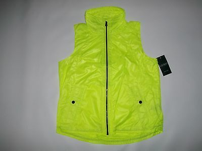 RALPH LAUREN Active Running Athletic Visibility VEST womens L / LARGE $125 NEW