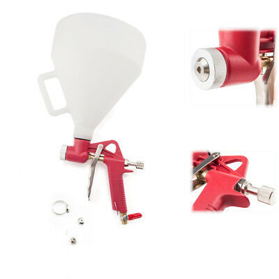 Air Hopper Spray Gun Paint Texture Wall Construction Ceiling Painting 3 Nozzle