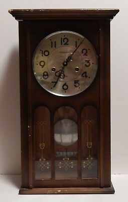 Commodore Vintage Wall Clock for Parts or Repair