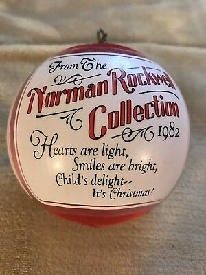 From The Norman Rockwell Collection 1982 Ornament