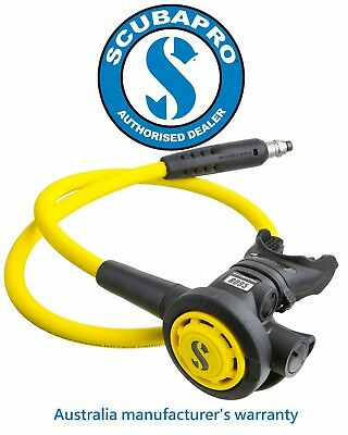 Scubapro R095 Scuba Diving Octopus - Black/Yellow - NEW ~Free Shipping