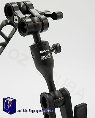 Underwater Ball Joint Quick Release Arm , Detachable ARM~ Free Shippping