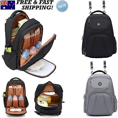 Mummy Dad Maternity Nappy Diaper Bag Rucksack Baby Bag Outdoor Travel Backpack