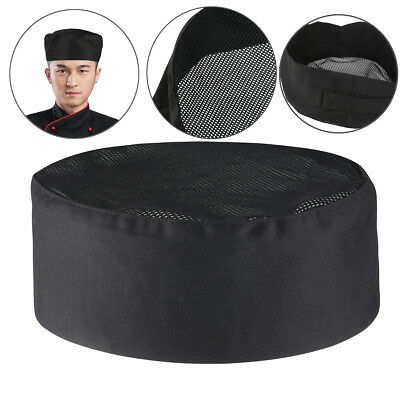 FOXNOVO Breathable Mesh Top Skull Cap Professional Catering Chefs New