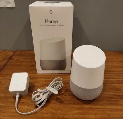 Google Home - White Slate - Google Personal Assistant