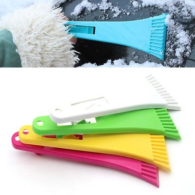 Car Windshield Ice Frost Snow Window Scraper Winter Cleaning Removal Tool Useful