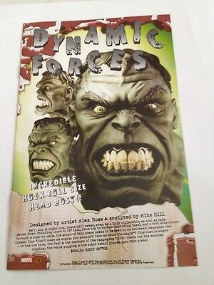 Dynamic Forces 2003 Promo Booklet , hulk cover