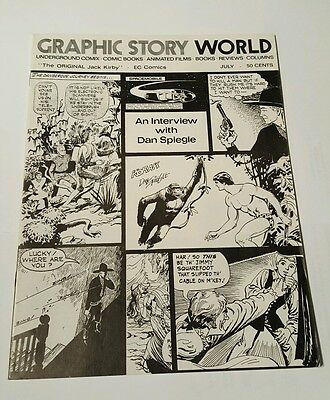 Graphic story world # 6, 1972