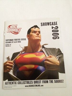 Dc Direct Showcase 2006 Promo Booklet , Superman Cover