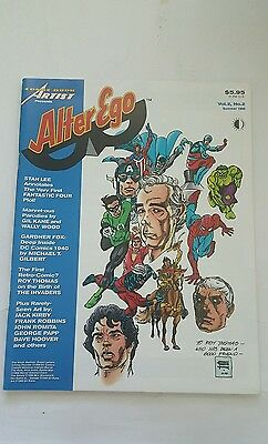 Comic book artist presents alter ego # 2 , 1998 gil kane/everett flip book