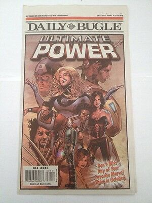 daily bugle newsprint ( september 27, 2006 ) ultimate power