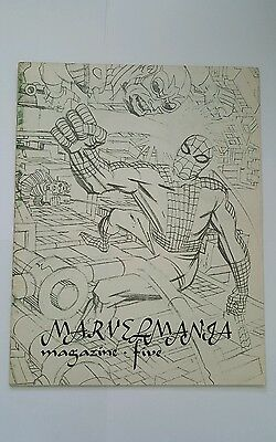 Marvelmania magazine #5, 1970 spiderman/ silver surfer , kirby and royer  cover