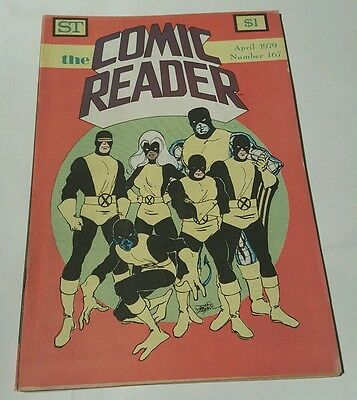 St the comic reader # 167, 1979 x-men cover, john byrne