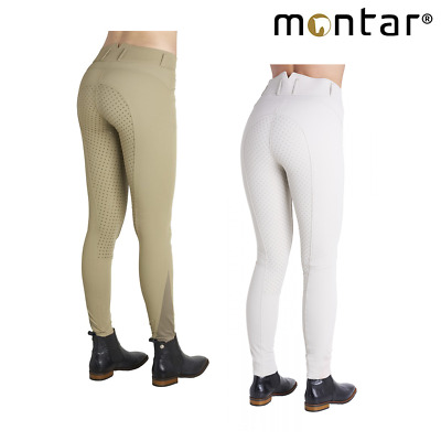 Montar Elise Ladies Silicone Knee Patch Breeches **SALE** **FREE UK Shipping**
