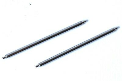2 x 24mm Single Shoulder Watch spring Bars/Pins. 1 x 1.2mm Thick. SWISS. P1