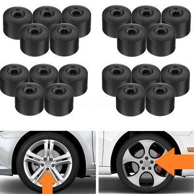 20pc 17mm Wheel Nut Lug Bolt Cap Cover For VW Passat Golf Polo Tiguan Jetta Audi