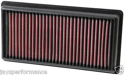 Kn Air Filter Replacement For Peugeot 208 L3-1.0L F/i; 2012-2016