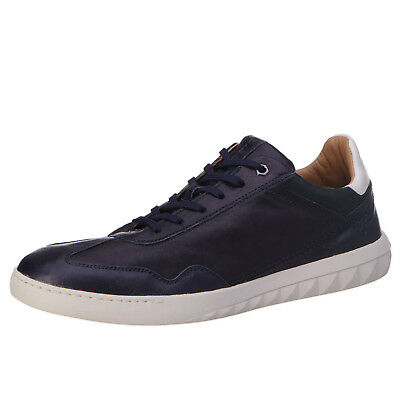 RRP €160 DIESEL Size 43 / UK 9 S-STUDSHEAN Genuine Leather Lace-Up Sneakers