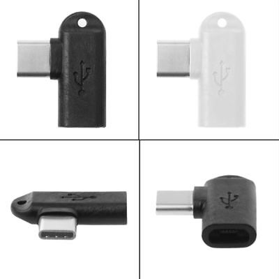 90 Degree Type C Male To Micro USB Female Data Sync Charge Converter Adapter 1Pc