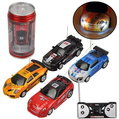 Coke Can Mini RC Car Remote Control Micro Racing Car Electric Toys Xmas Gifts UK