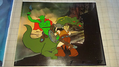 Wizards - Original Ralph Bakshi Signed Production Cels - Battle Scene #1