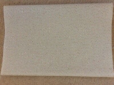 Cross Stitch Fabric - One Piece of  Zweigart 14 Count Lurex Aida