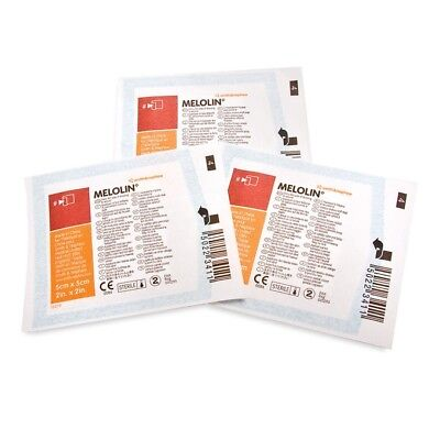 Melolin 10 x 10 cm Low Adherent Absorbent Dressing(s) - Wounds Abrasions Burns