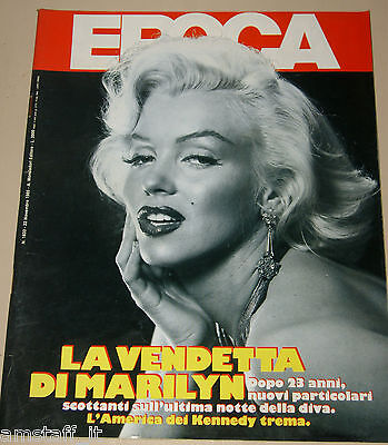 Epoca=1985/1833=Marilyn Monroe Cover Magazine=Maria Reiche=Benny Hill=Issue=