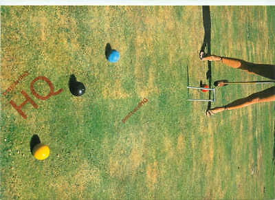Picture Postcard~ Croquet, Anyone?, Paul Huf [Art Unlimited]