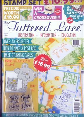 Tattered Lace Magazine Issue 37 - Free Die & Stamp Set craft