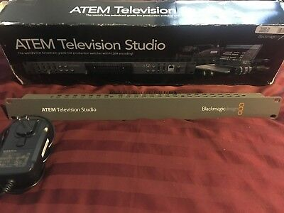 Blackmagic Design ATEM Television Studio Production Switcher SDI HDMI