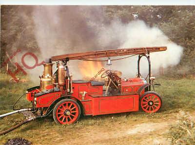 Picture Postcard: GOBRON-BRILLIE FIRE ENGINE, NATIONAL MOTOR MUSEUM