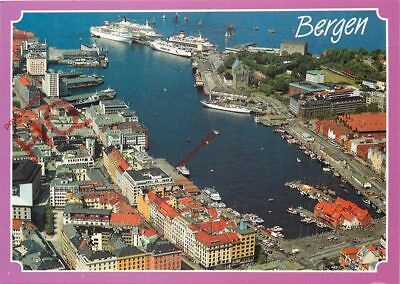 Picture Postcard: Bergen, Aerial View