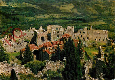Picture Postcard; Mystras, Aghia Sophia And The Palaces
