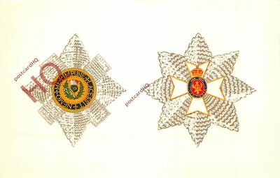 Picture Postcard~ ORDER OF THISTLE / ROYAL VICTORIAN ORDER [QUEEN AND PEOPLE]