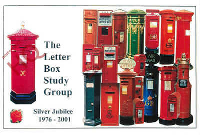 Picture Postcard-:Letter Box Study Group, Silver Jubilee