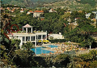 Picture Postcard, Madeira, Piscina Do Hotel Reid's, Swimming Pool