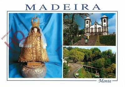 Picture Postcard~ Madeira, Monte (Multiview)