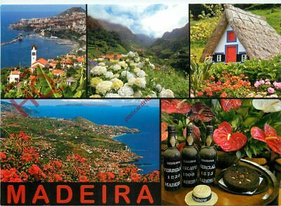 Picture Postcard:-Madeira (Multiview)