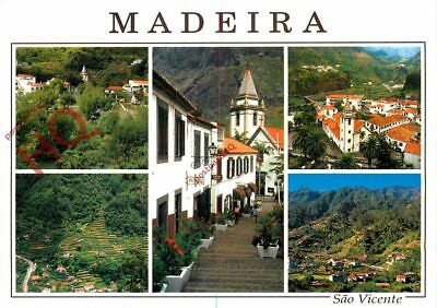 Picture Postcard- Madeira, Sao Vicente (Multiview)