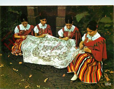 Picture Postcard- Madeira, Bordadeiras, Embroiderers