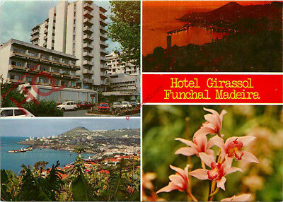 Picture Postcard- Madeira, Funchal, Hotel Girassol (Multiview)