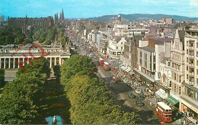 Picture Postcard: Edinburgh, Princes Street From The Scott Monument
