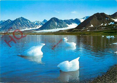 Picture Postcard; Kongsfjord, Ice Sculptures (Icebergs) Norway